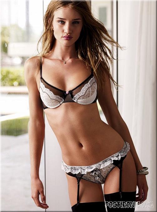Роузи Хантингтон-Уайтли разделась для Victoria's Secret