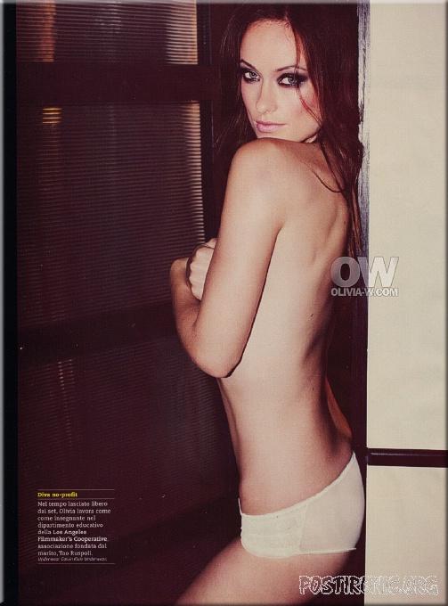 Оливия Уайлд разделась для журнала GQ