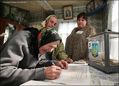 Что ожидает Украину после выборов