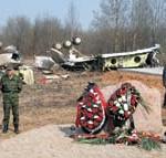 На месте катастрофы самолета Качиньского «нашли» следы взрывчатки...