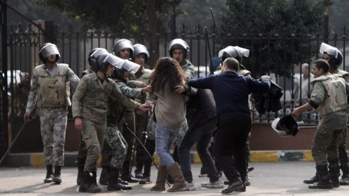 Египет: как поднять революцию против сексуального насилия