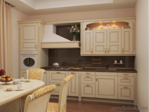 фото встроенная кухня