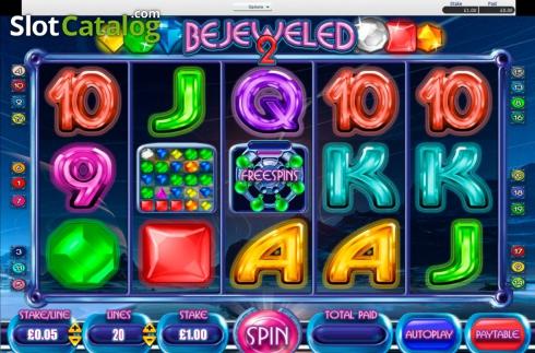 Игровой слот Bejeweled