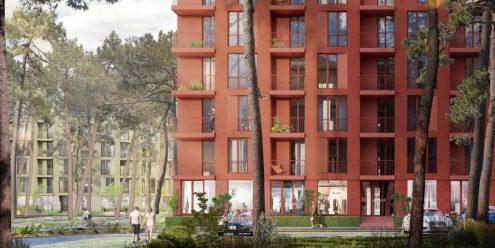 O2 Residence визуализация проекта